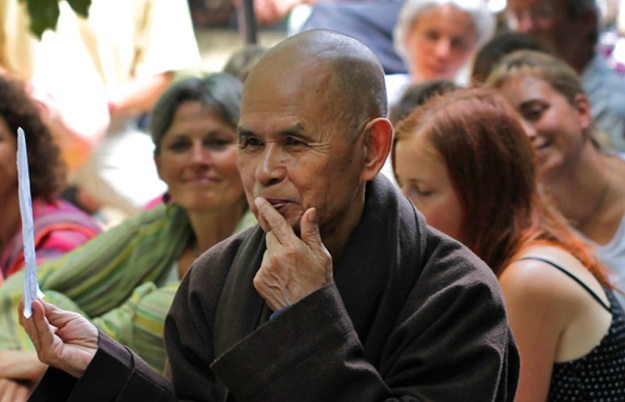 Thich Nhat Hanh Gira en España
