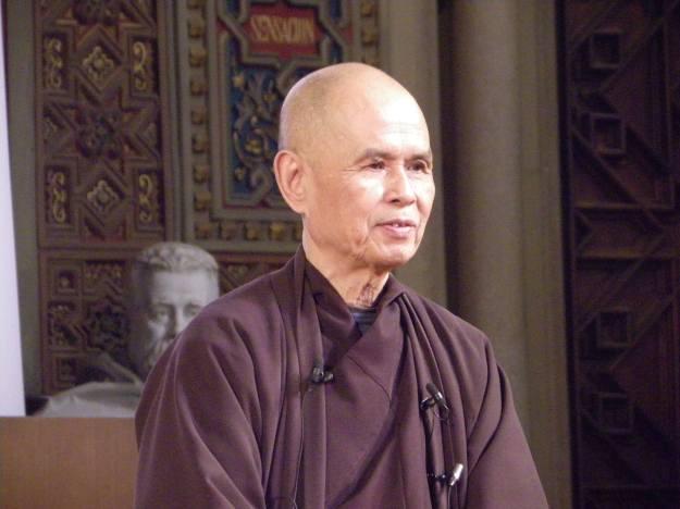 Thich Nhat Hanh en Barcelona